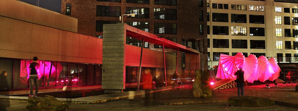 public art, installation, sculpture, light architecture, micro architecture